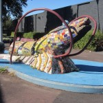 Berkeley Prawn Play Sculpture