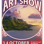 Scarborough Art Show poster 2015